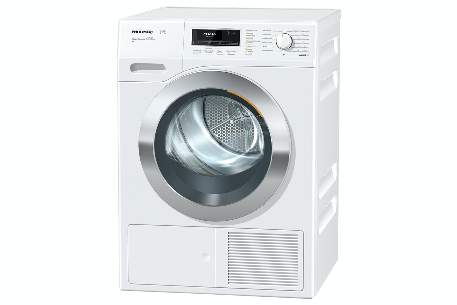 Miele TKR850 WP SFinish&Eco XL T1  Heat-pump tumble dryer   with 9 kg and ProfiEco motor – best drying results even for large laundry loads