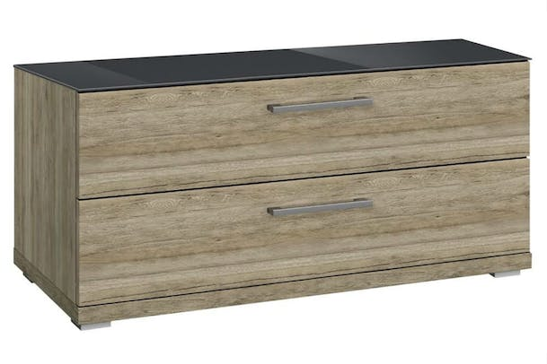 Saal 2 Drawer Chest | Sanoma & Glass Basalt
