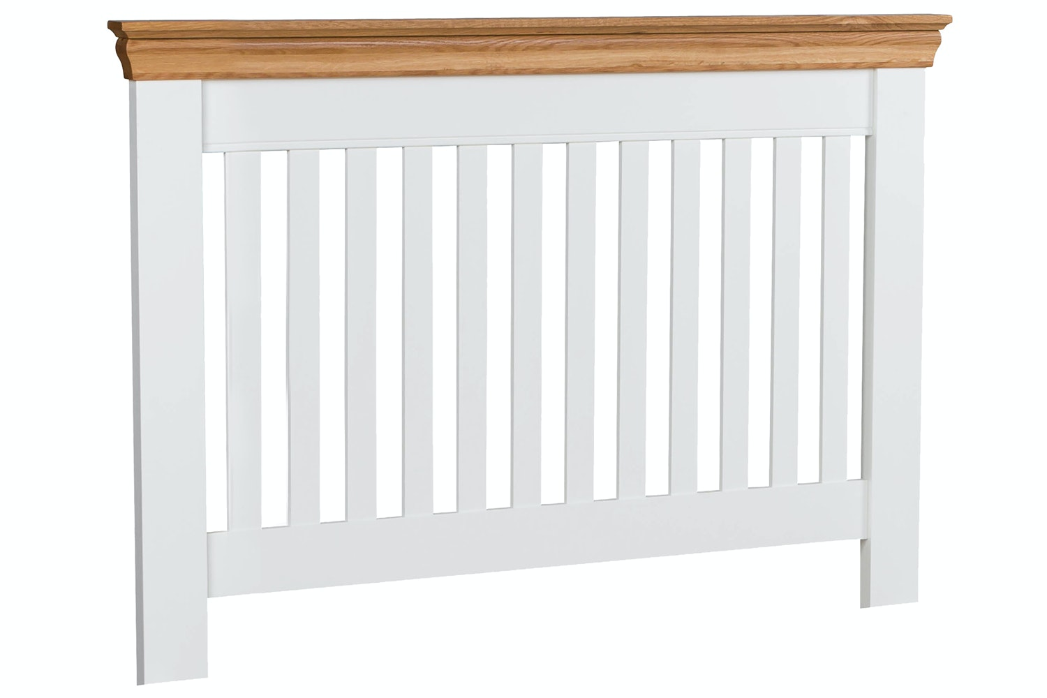 Ascott Headboard | 3ft | White & Oak
