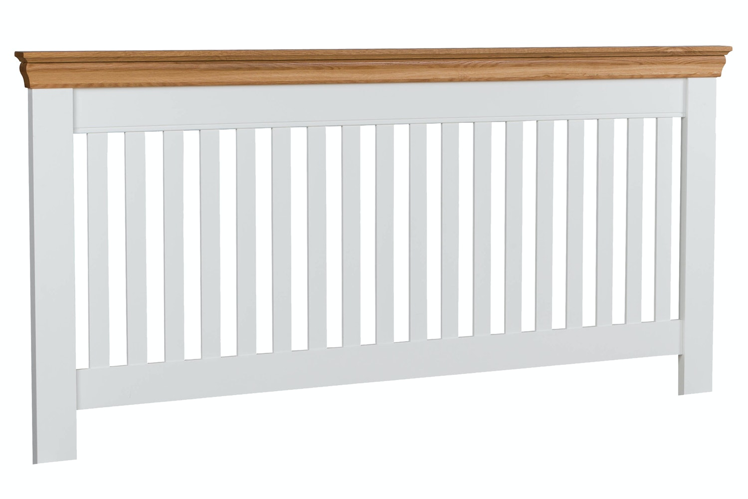 Ascott Headboard | 4ft6 | White & Oak
