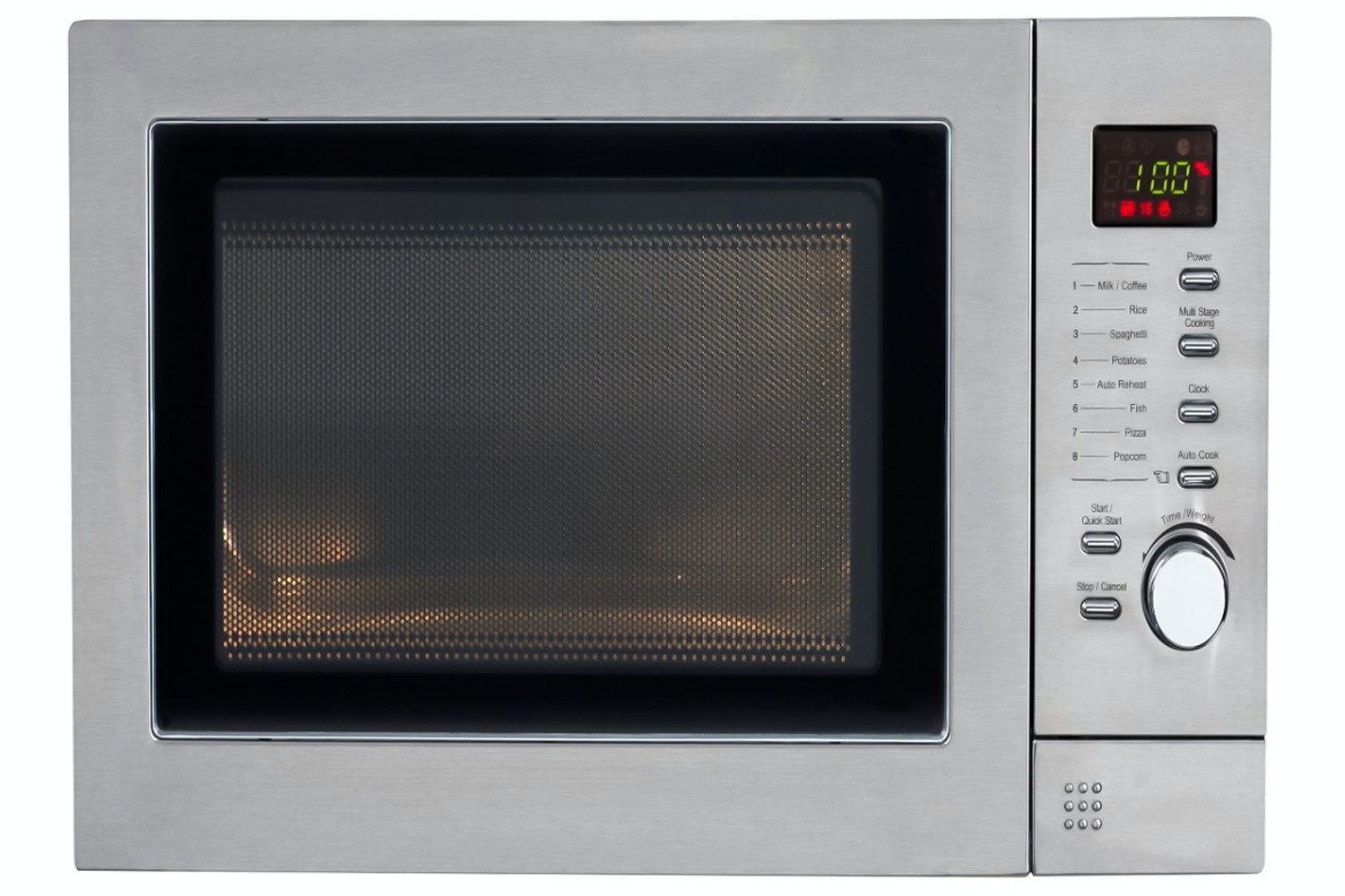 Belling 23L 900W Freestanding Microwave | Stainless Steel