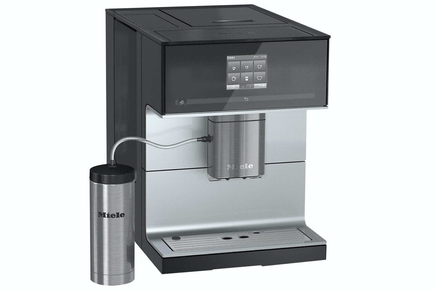 Miele CM 7300  Countertop Coffee Machine   with OneTouch for Two Feature and Heated Cup Rack for Perfect Coffee
