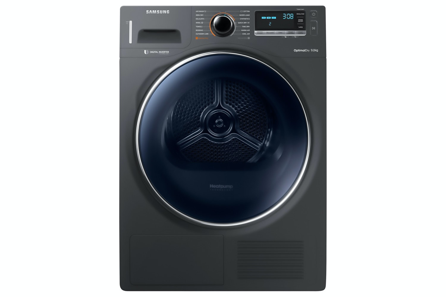 Samsung 9kg Heat Pump Tumble Dryer | DV90M8204AX/EU