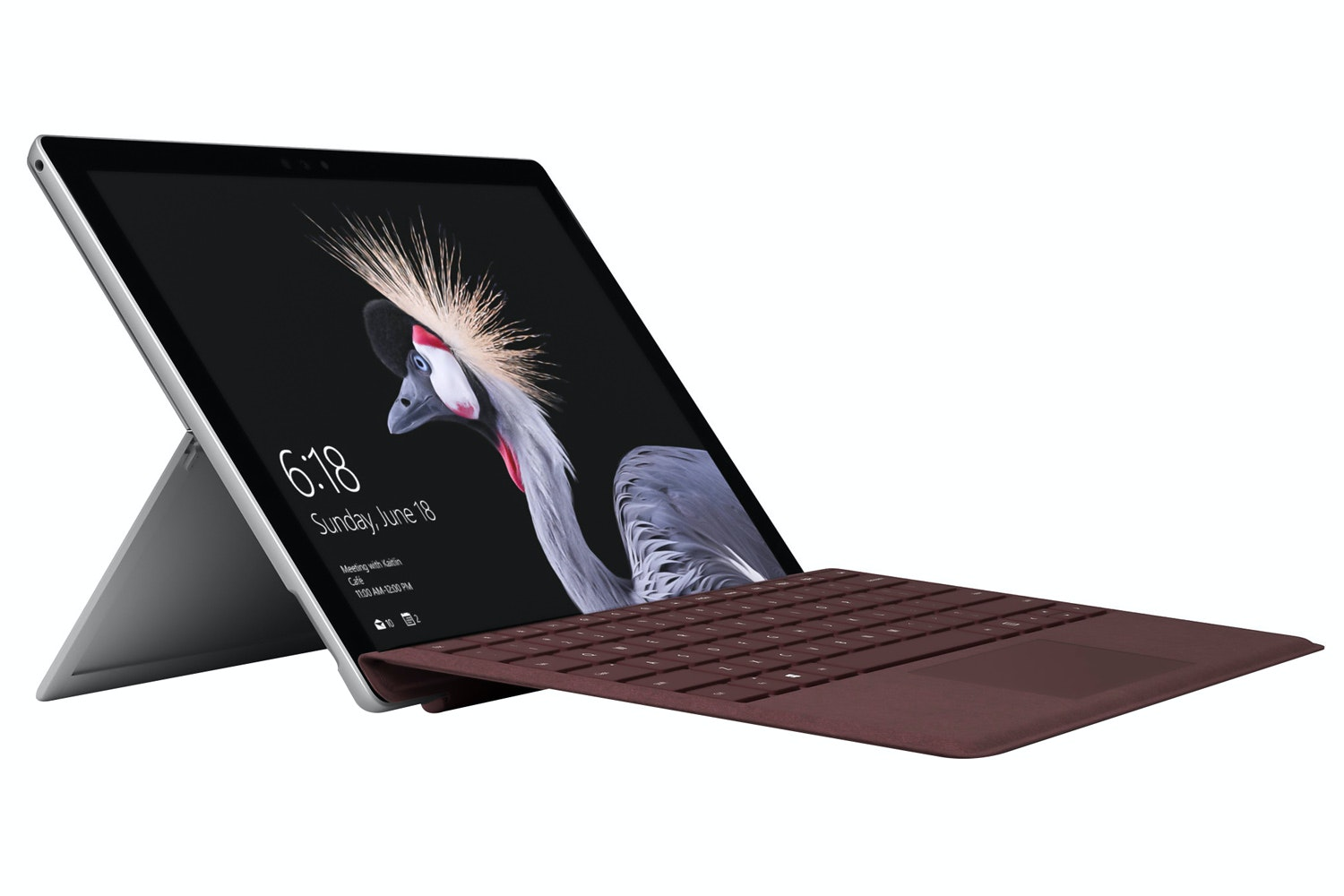 Microsoft Surface Pro Signature Type Cover | Burgundy
