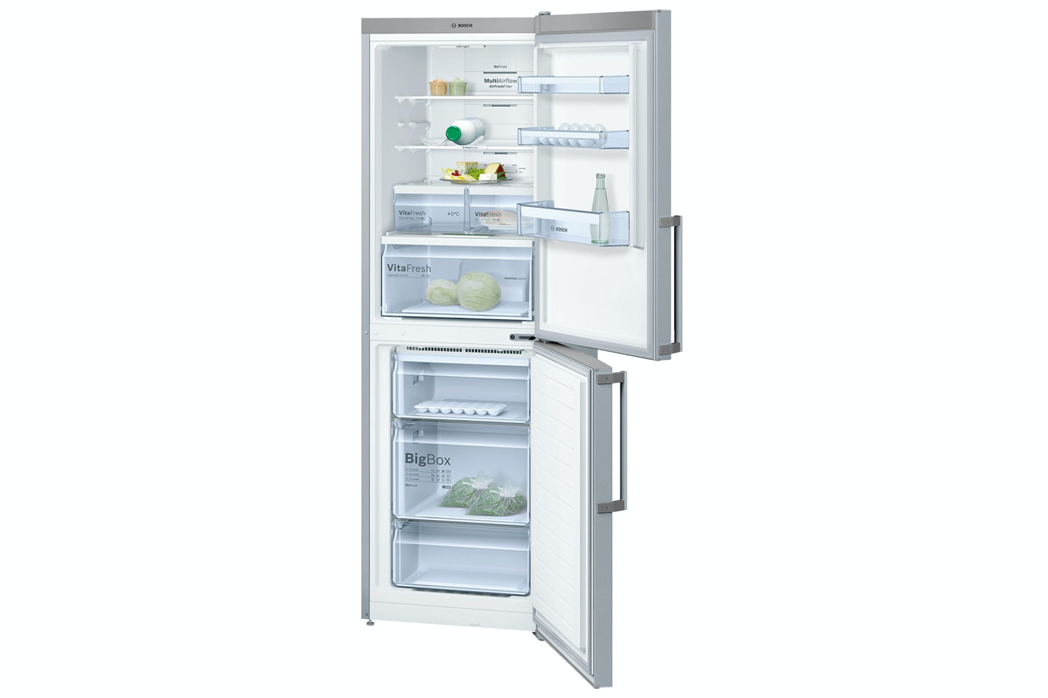 Bosch Series 4 Freestanding Fridge Freezer | KGN34XL35G