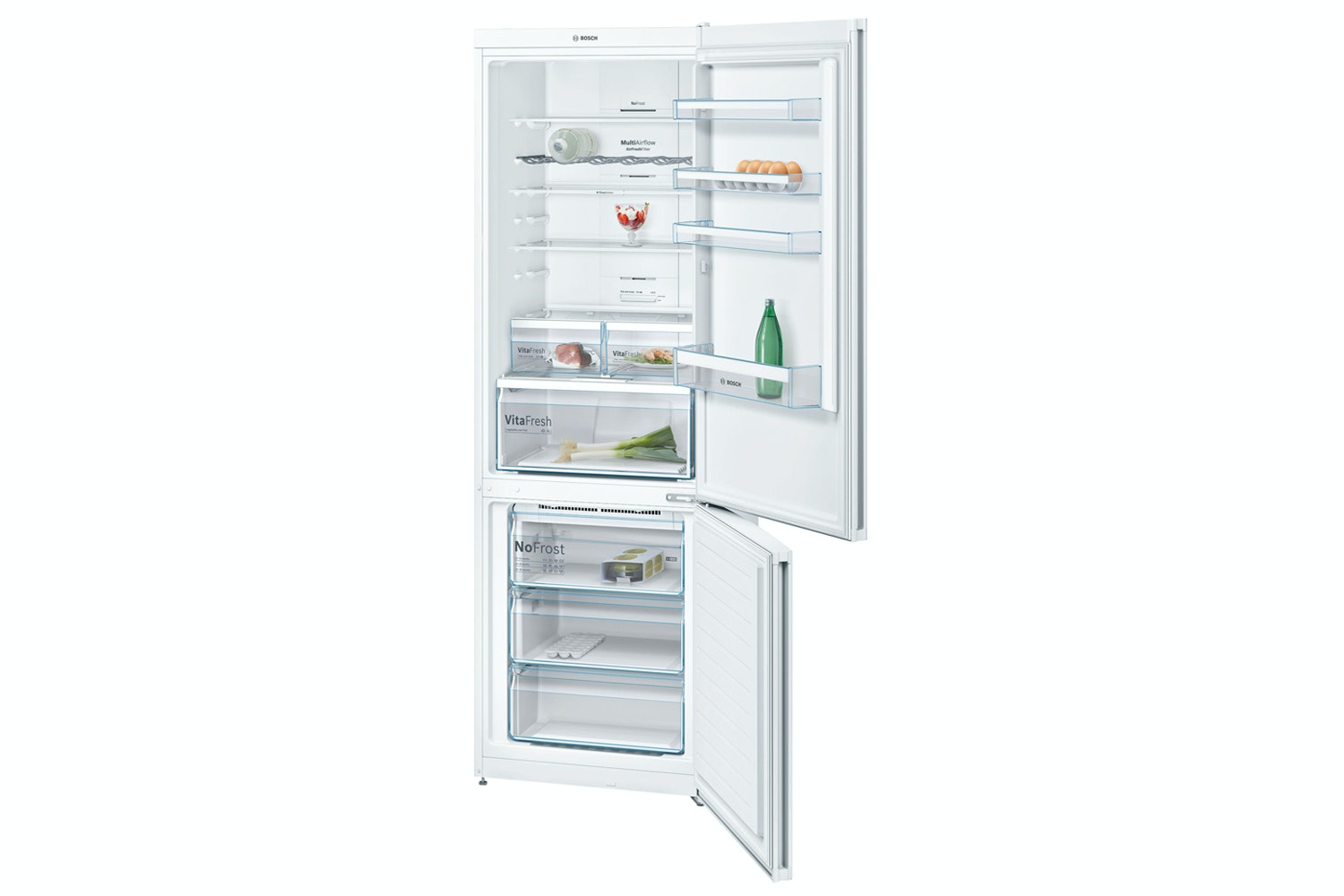 Bosch Serie 4 Freestanding Fridge Freezer | KGN49XW30