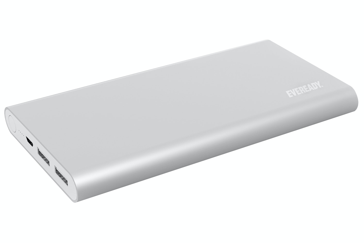 Eveready 10000mAh Power Bank | Silver