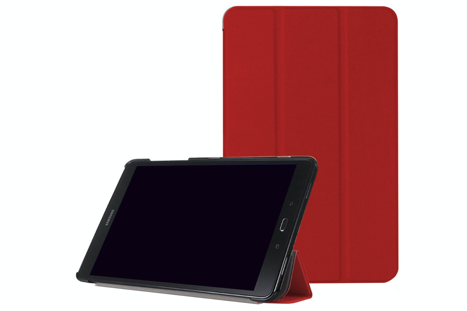 Tactus Samsung Galaxy Tab E 9.6 Slim Smart Cover | Red