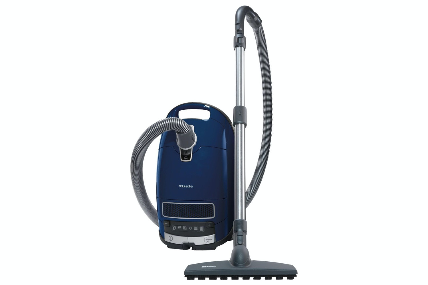 Complete C3 Parquet PowerLine - SGSF3  Cylinder vacuum cleaner   with protective parquet floorhead for first-class care of delicate hard floors.