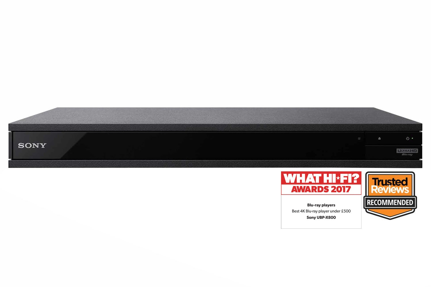 Sony 4K Ultra HD Blu-Ray Player | UBPX800B.CEK