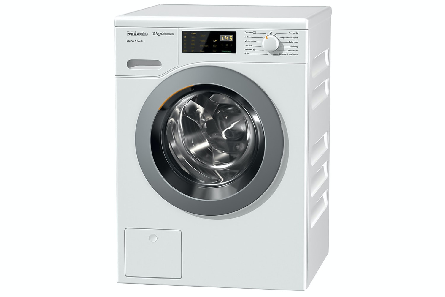 Miele WDD020 EcoPlus&Comfort  W1 Classic front-loading washing machine   for 1-8 kg of laundry - Miele quality and efficiency at an attractive price