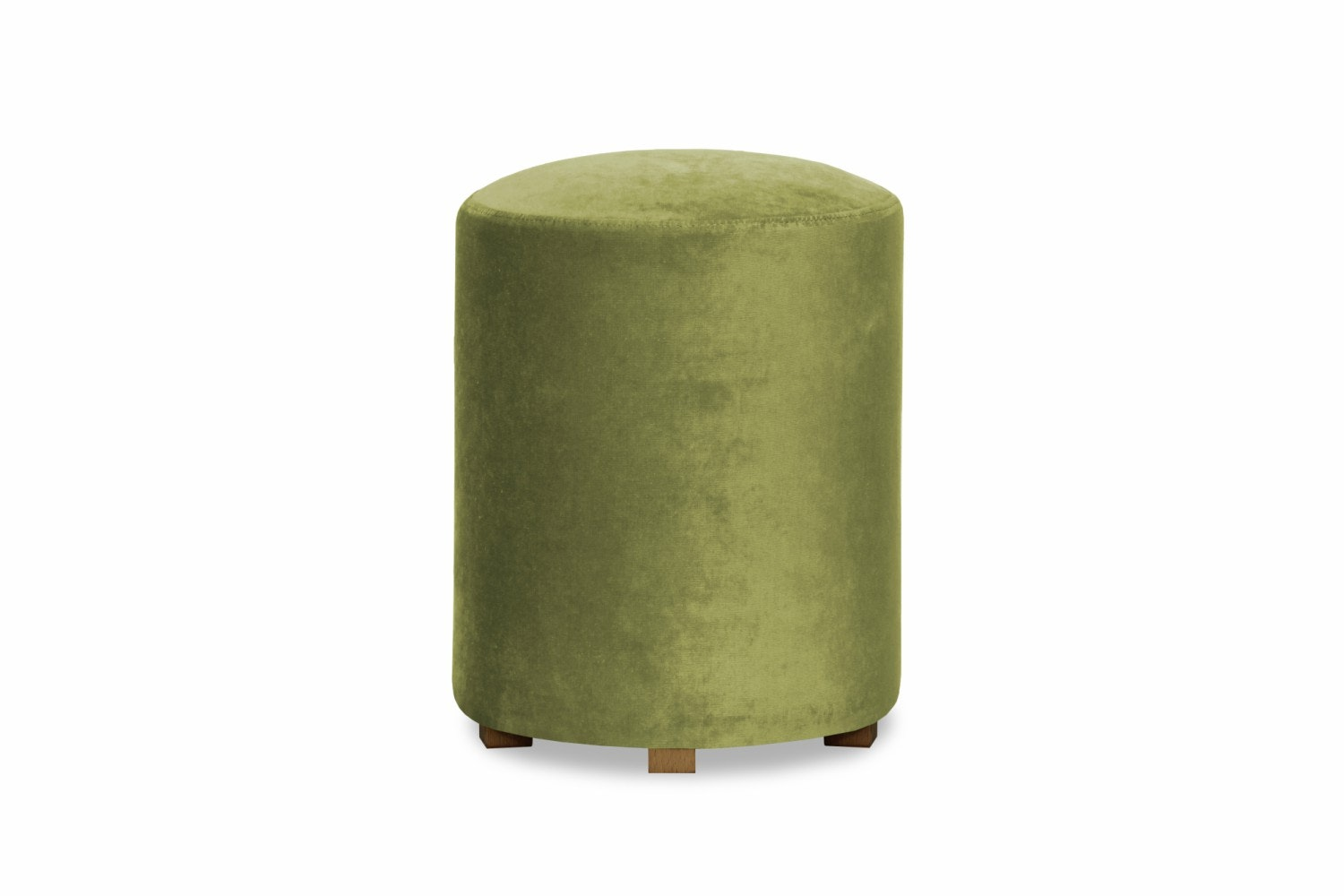 Pufa Bedroom Round Stool | Green