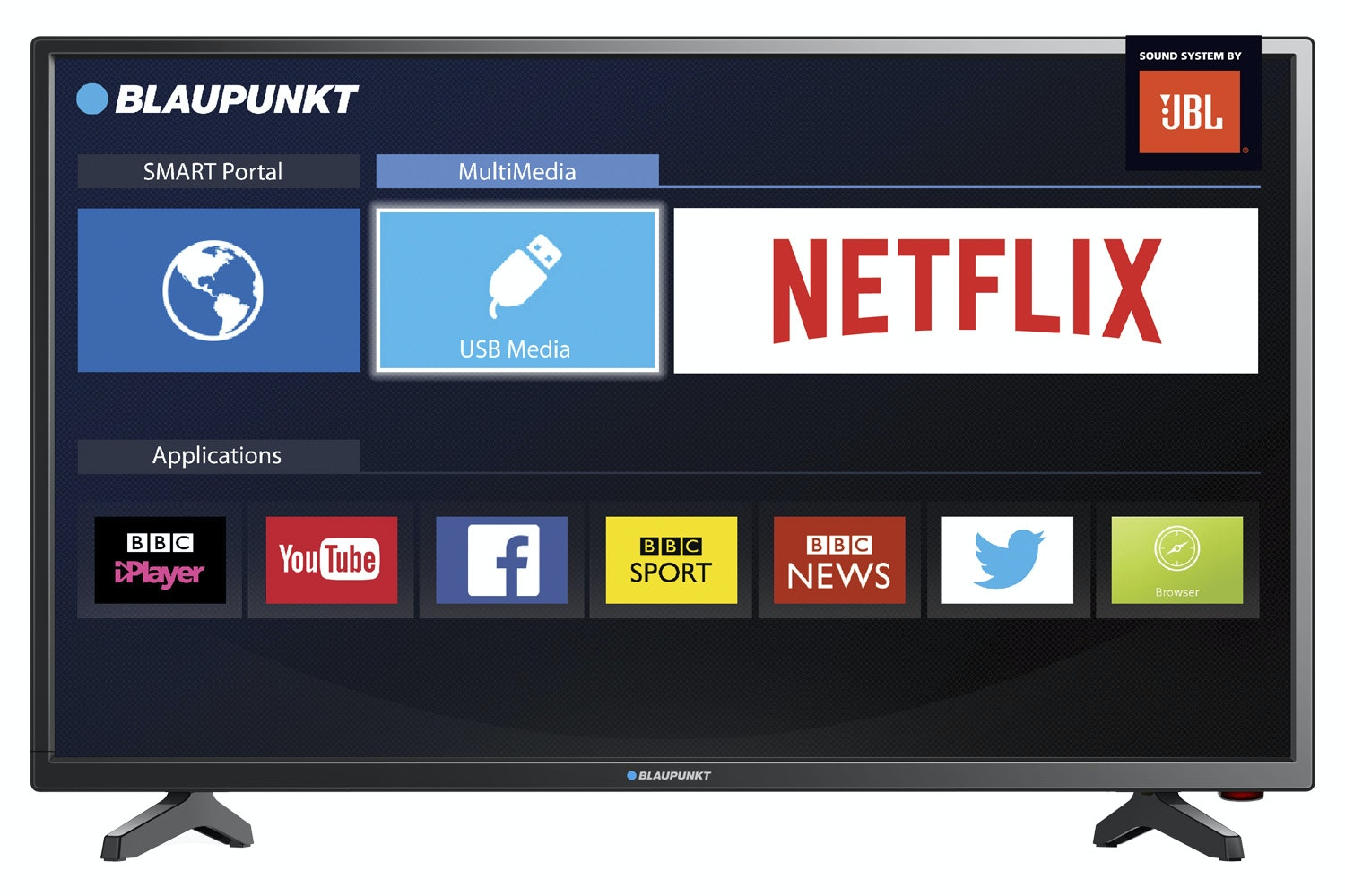 "Blaupunkt 32"" HD Smart LED TV 