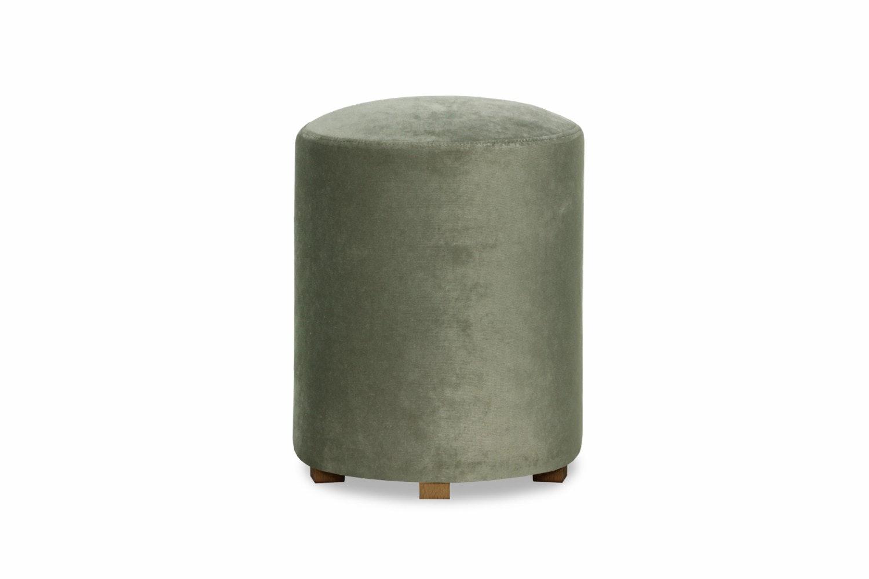 Pufa Bedroom Round Stool | Grey