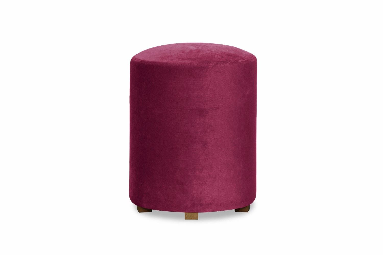 Pufa Bedroom Round Stool | Pink