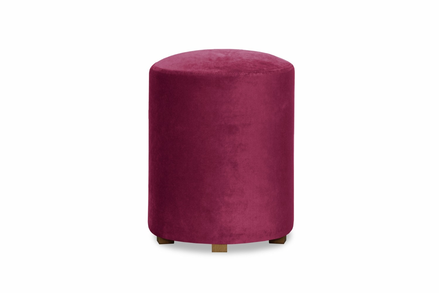 Pufa Bedroom Round Stool | Pink
