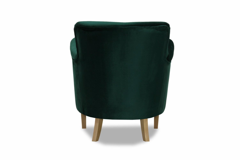 Lincoln Bedroom Chair Arm | Velvet Green
