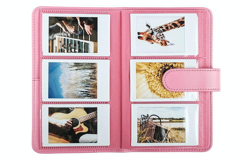 Fujifilm Instax Mini 9 Accessory Kit | Flamingo Pink