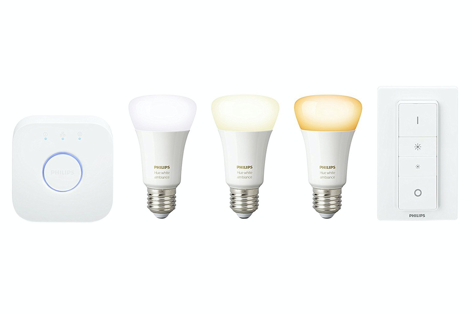 Philips Hue White Ambiance E27 Starter Kit