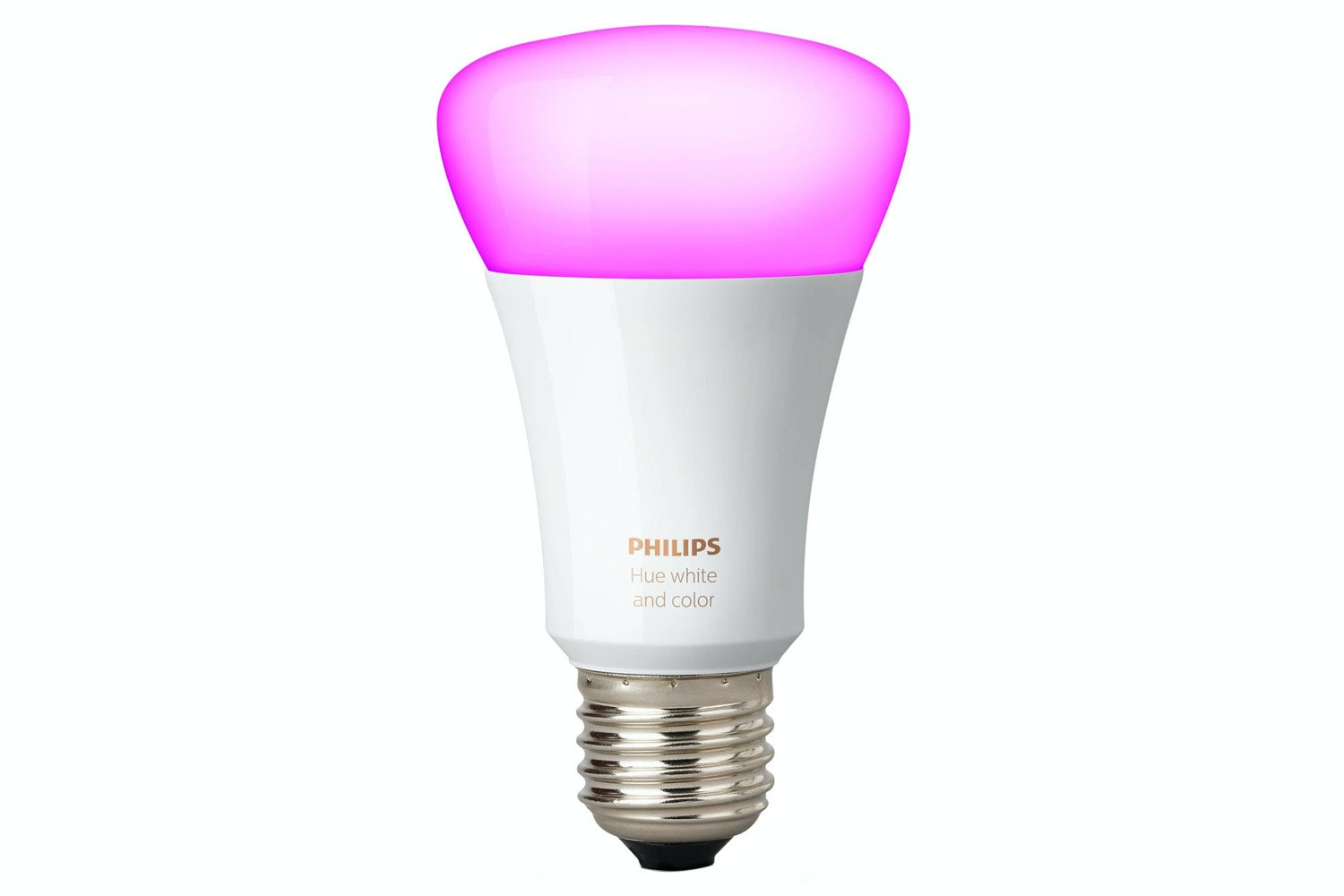 Philips Hue White & Colour Ambiance E27 Single Bulb