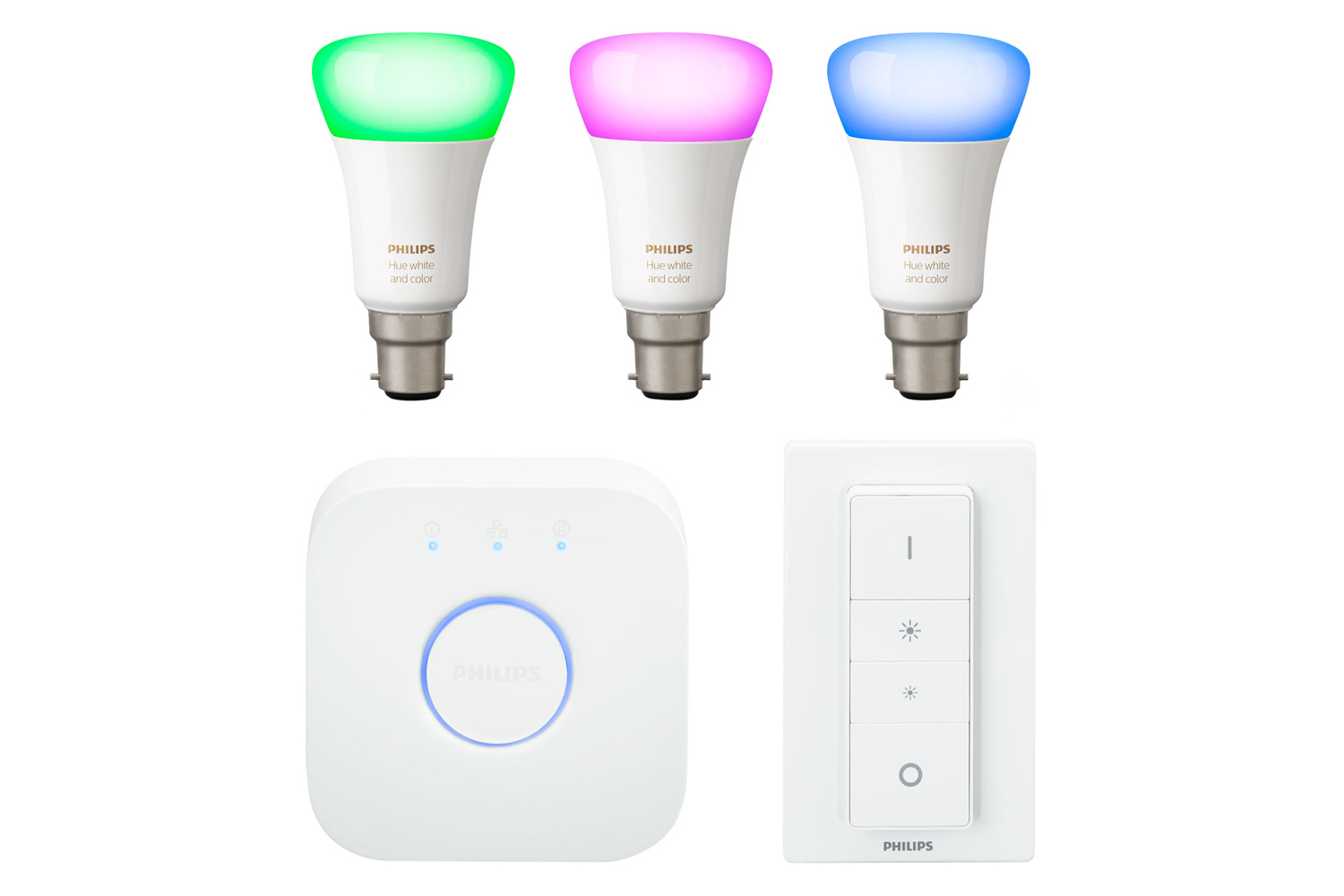 Philips Hue White & Colour Ambiance E27 Starter Kit | Ireland