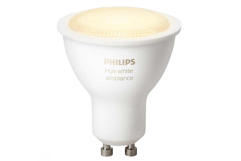 Philips Hue White Ambiance GU10 Twin Pack