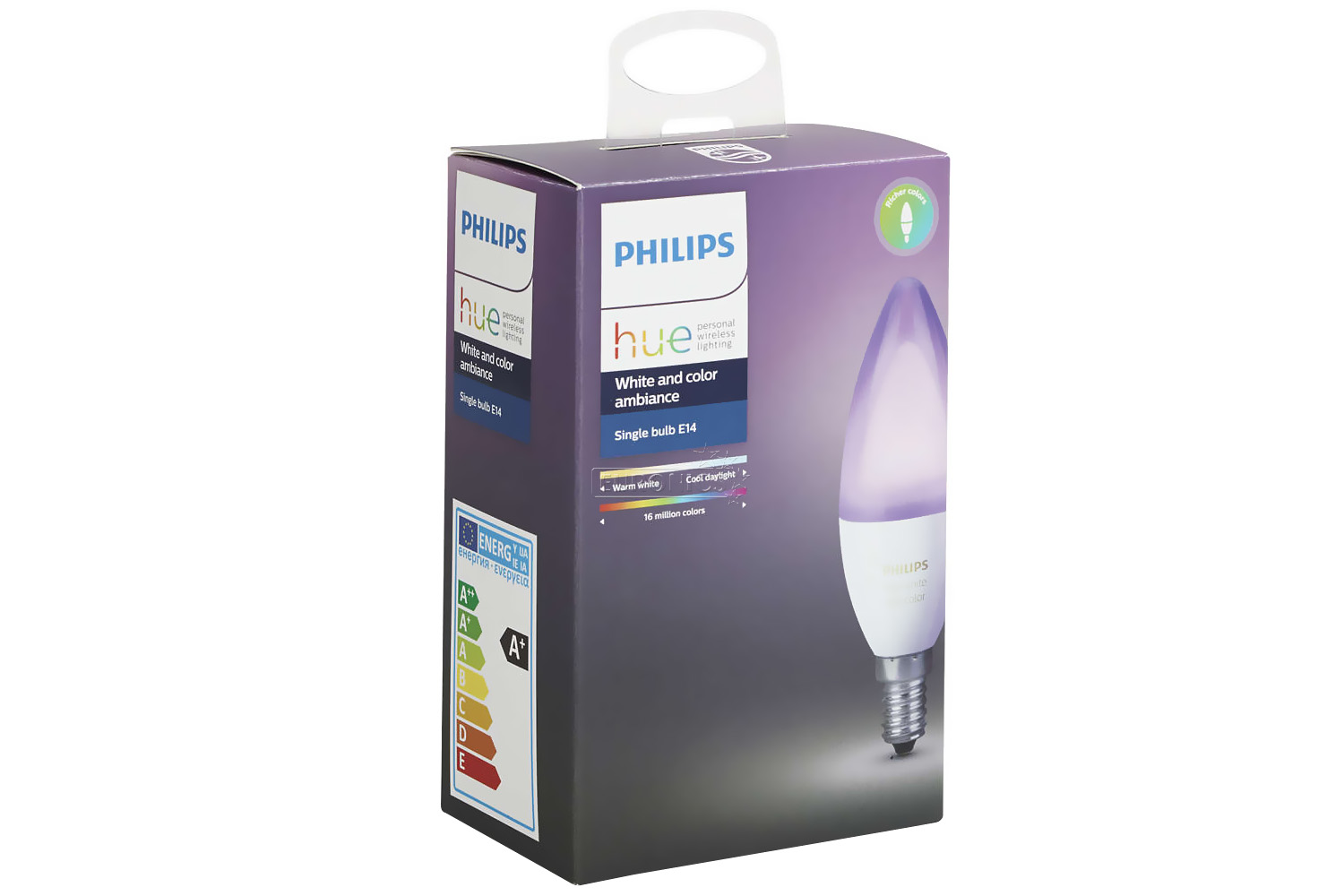 Hue Lampen E14 : Philips hue white colour ambiance e single bulb ireland