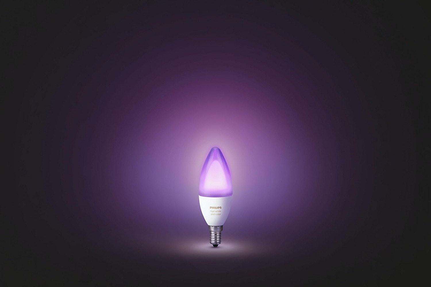 Philips Hue White & Colour Ambiance E14 Twin Pack