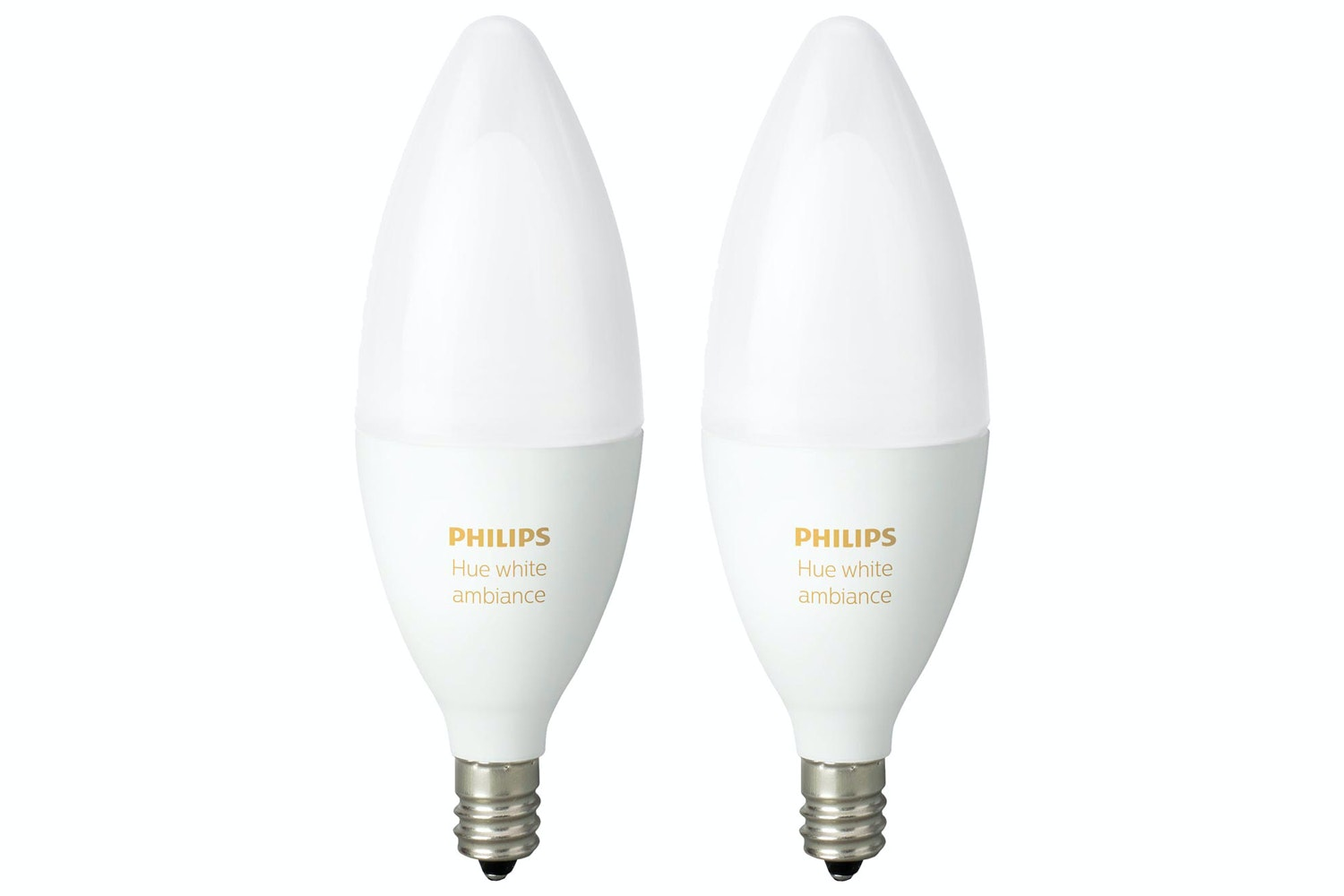 Philips Hue White Ambiance E14 Twin Pack