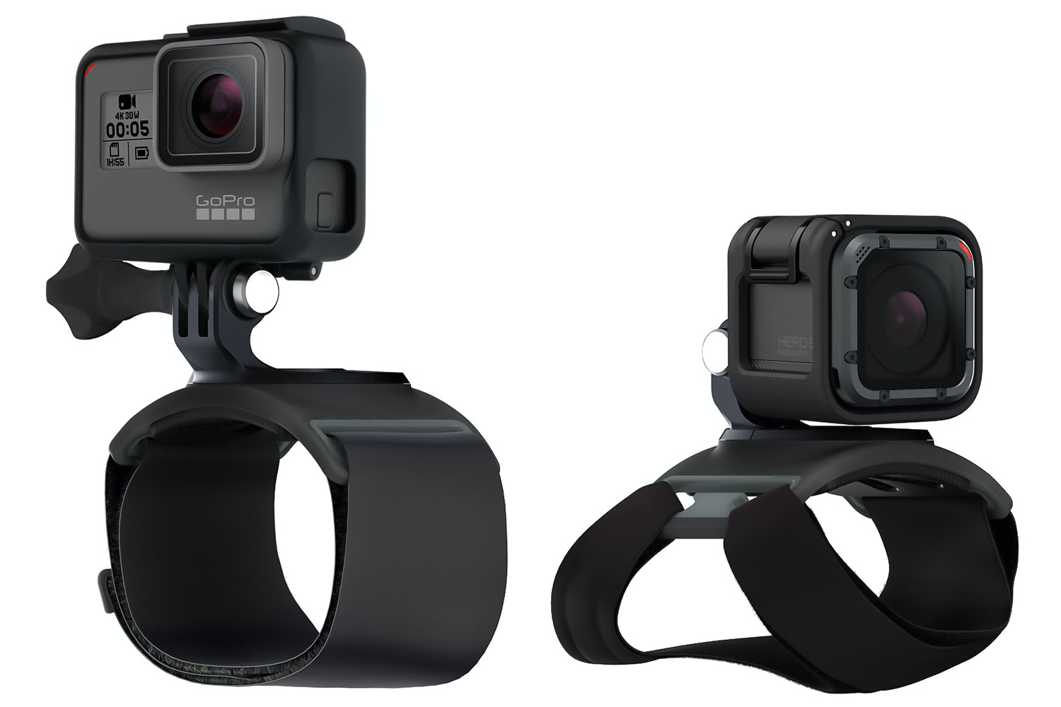 GoPro Hand with Wrist Strap Mount | Black