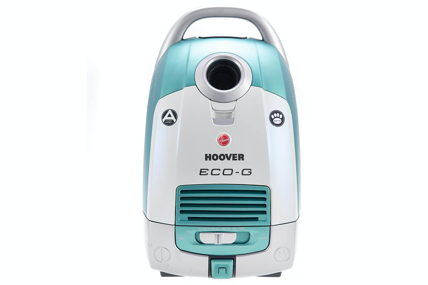 Hoover Eco Pet Cylinder Vacuum Cleaner | White