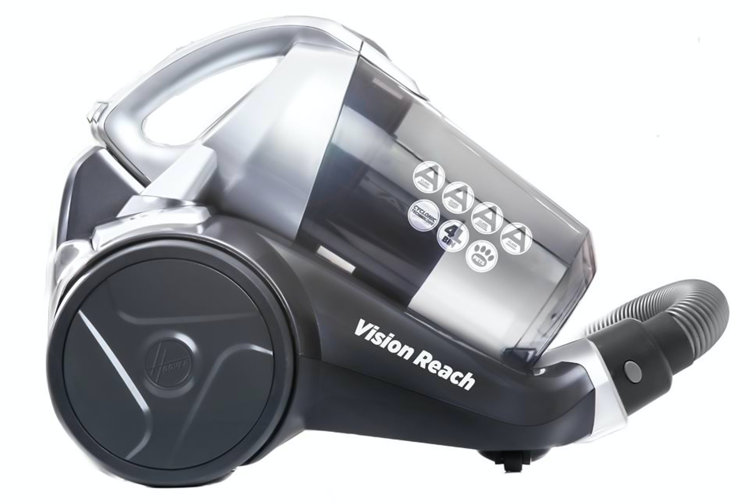 Hoover Vision Reach Bagless Cylinder Vacuum Cleaner | BF81_VS12
