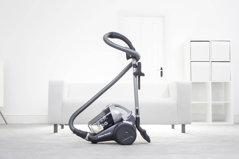 Hoover Vision Reach Bagless Vacuum Cleaner   Titanium & Silver