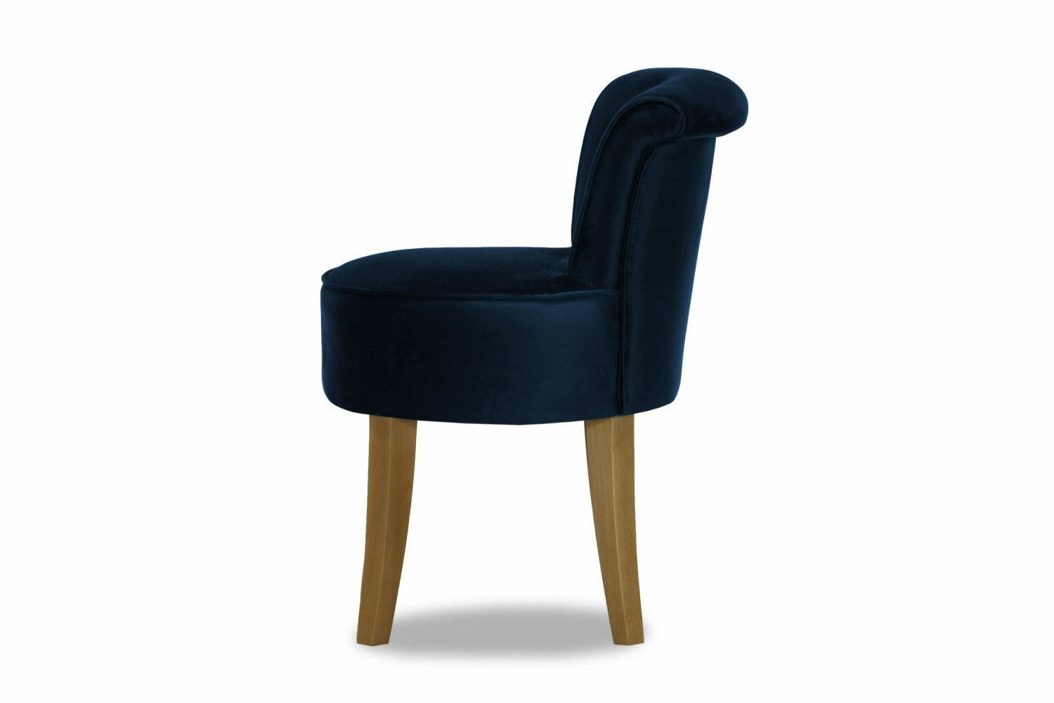 George Bedroom Chair | Portland Plush Marine