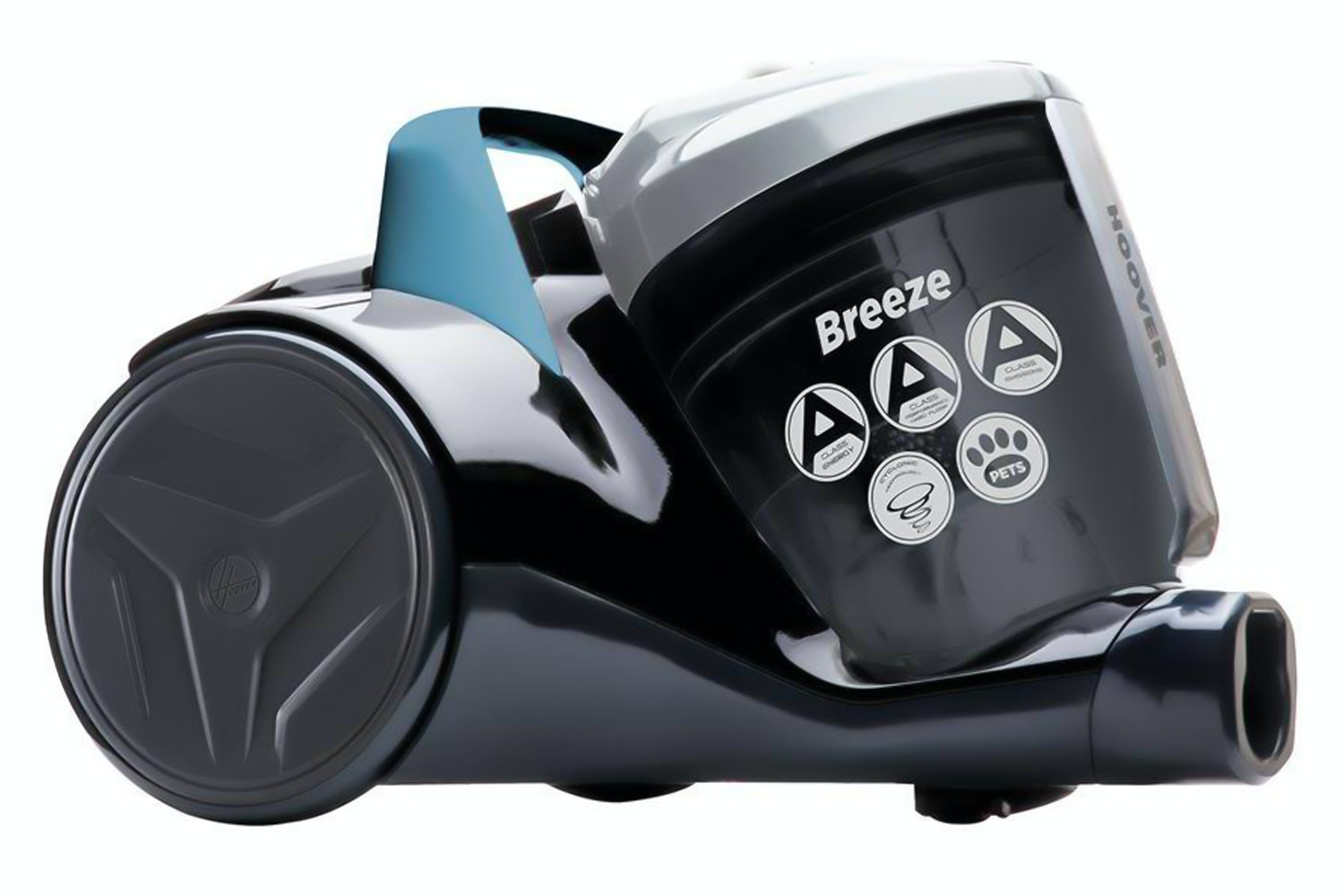 Hoover Breeze Pets Bagless Vacuum Cleaner | Black & Grey