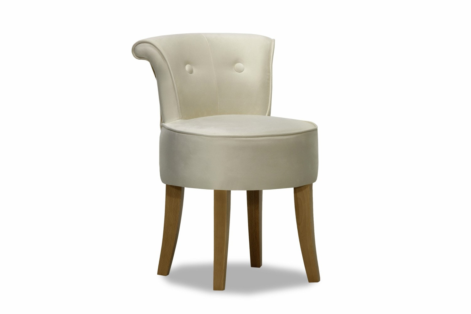 George Bedroom Chair | Portland Cream Velvet