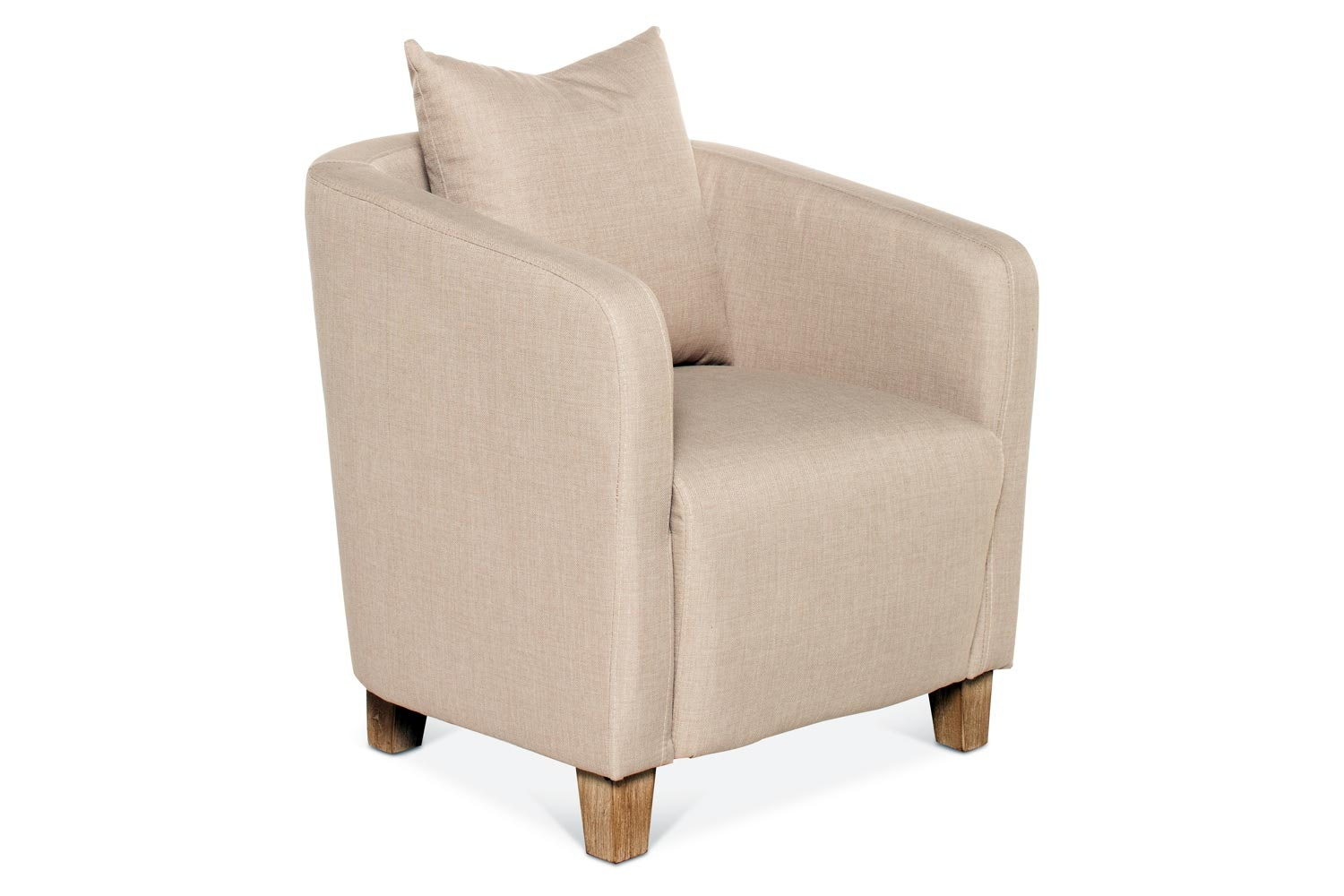 Norfolk Bedroom Chair | Oatmeal Fabric