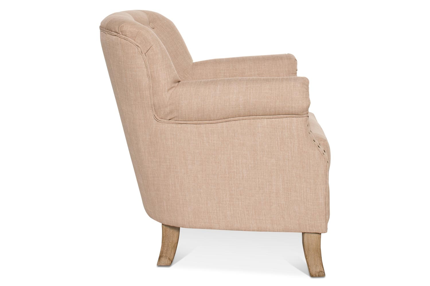 Durham Bedroom Chair | Oatmeal Fabric