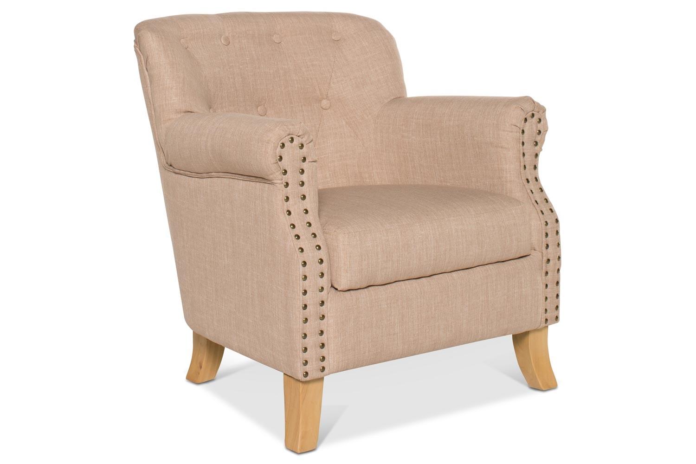 Durham Bedroom Chair | Oatmeal Fabric