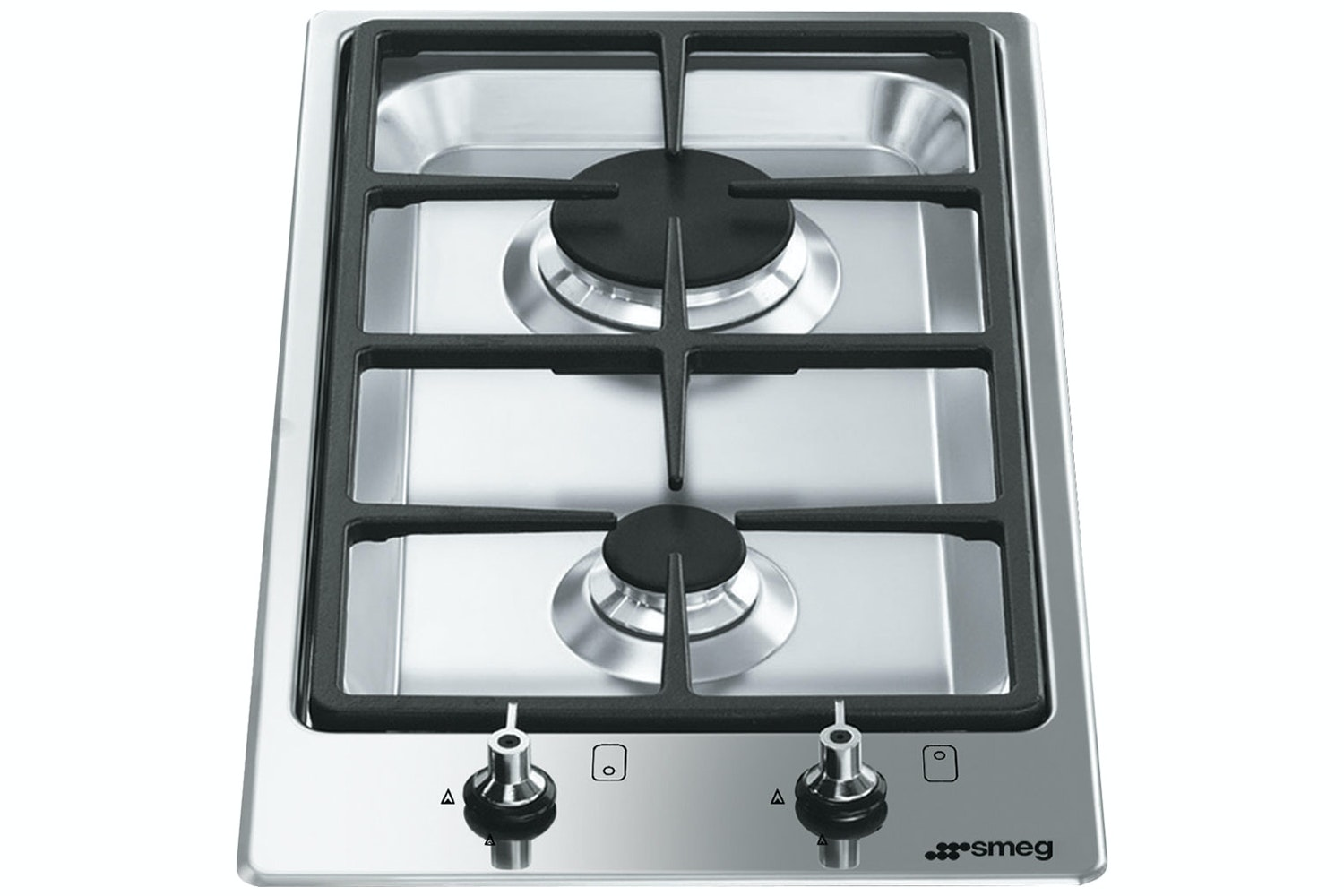 Smeg 31cm Classic Gas Hob | Stainless Steel
