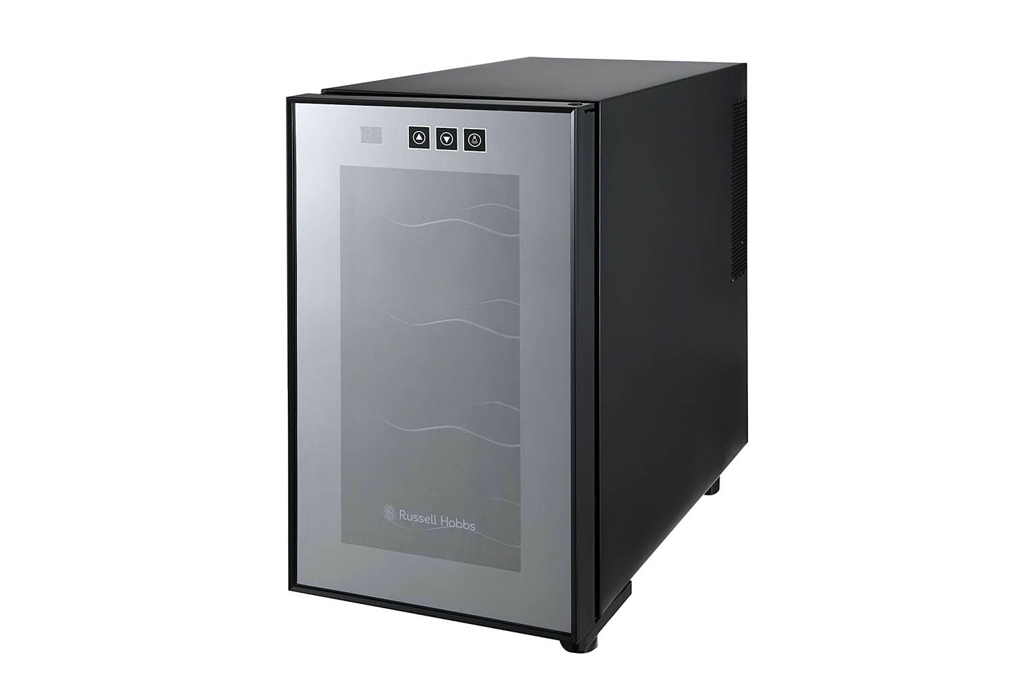 Russell Hobbs 8 Bottle Digital Wine Cooler | Black