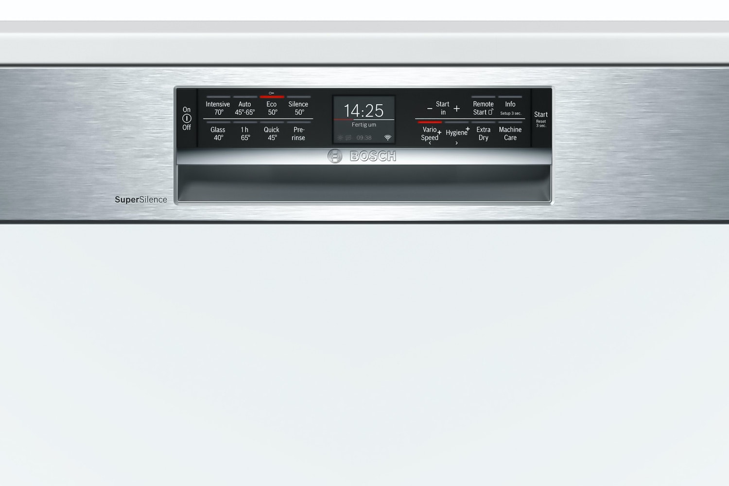 Bosch Serie 6 Semi Integrated Dishwasher | 14 Place | SMI68MS06G