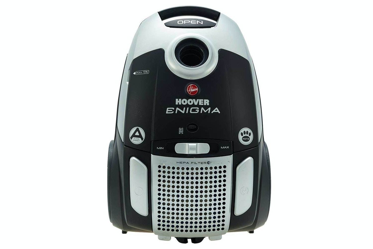 Hoover Enigma Pets Bagged Vacuum Cleaner | Black & Silver
