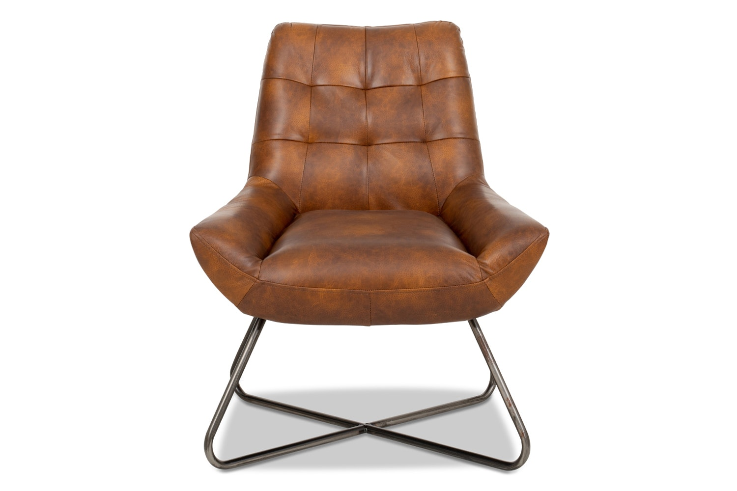 Retro-T Bedroom Chair | Kenia Brown