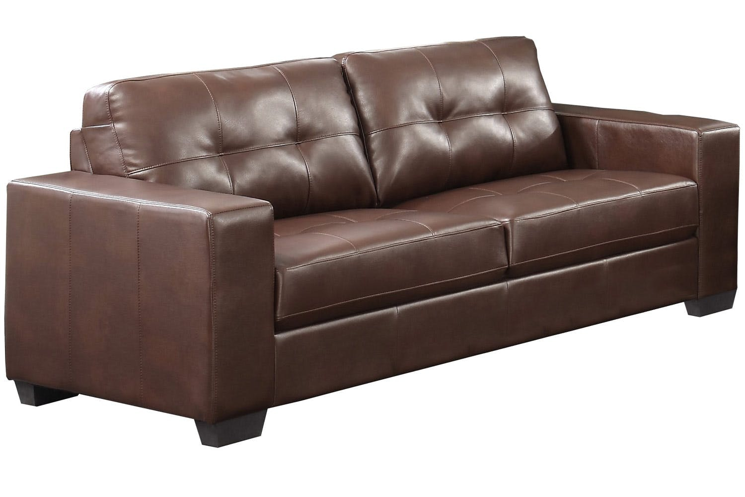 Caruba 3-Seater Sofa | Brown