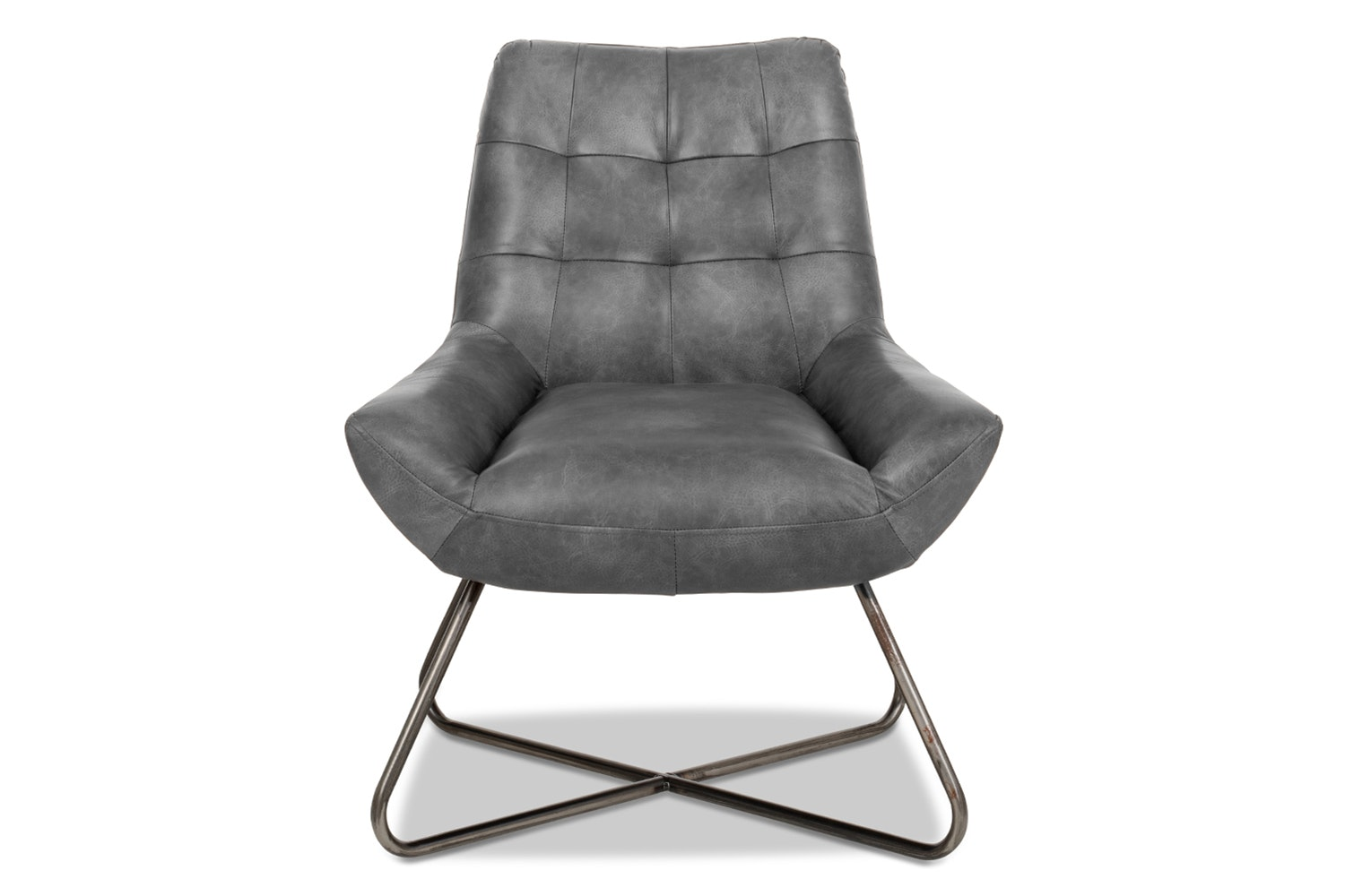 Retro-T Bedroom Chair | Kenia Grey