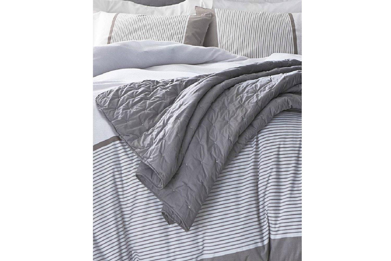 Lusso Bedspread | Grey