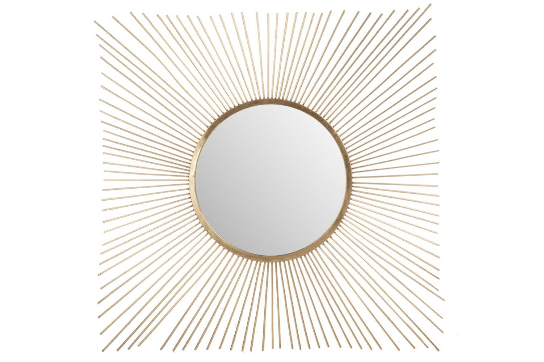 Mirror Sunrays Gold