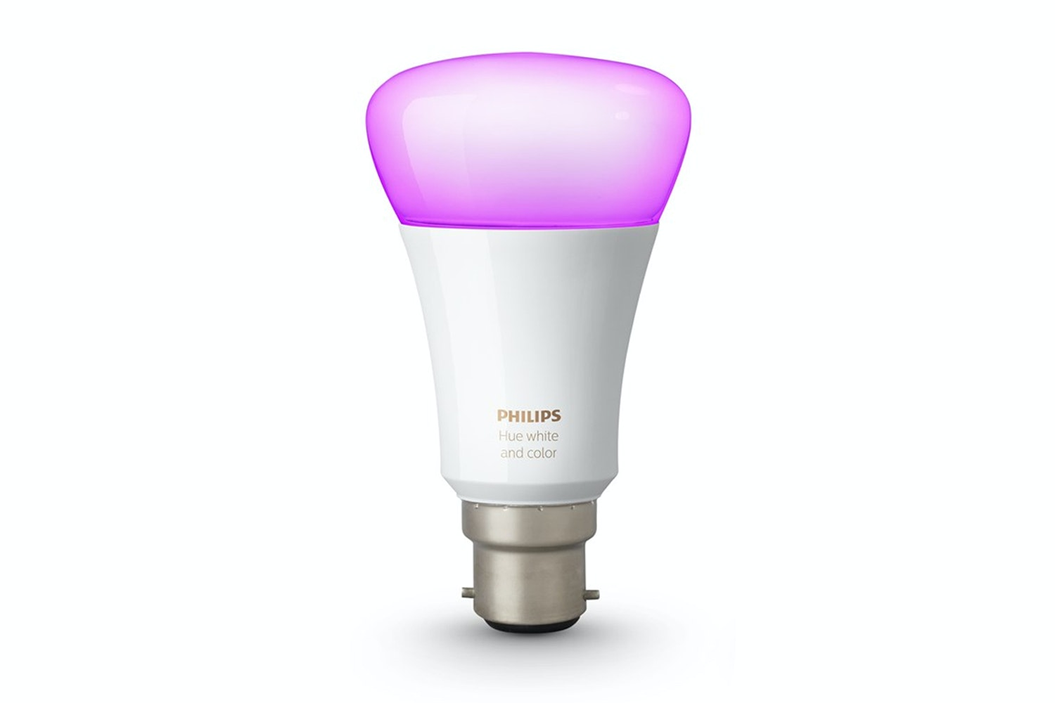 Philips Hue White & Colour Ambiance B22 Single Bulb