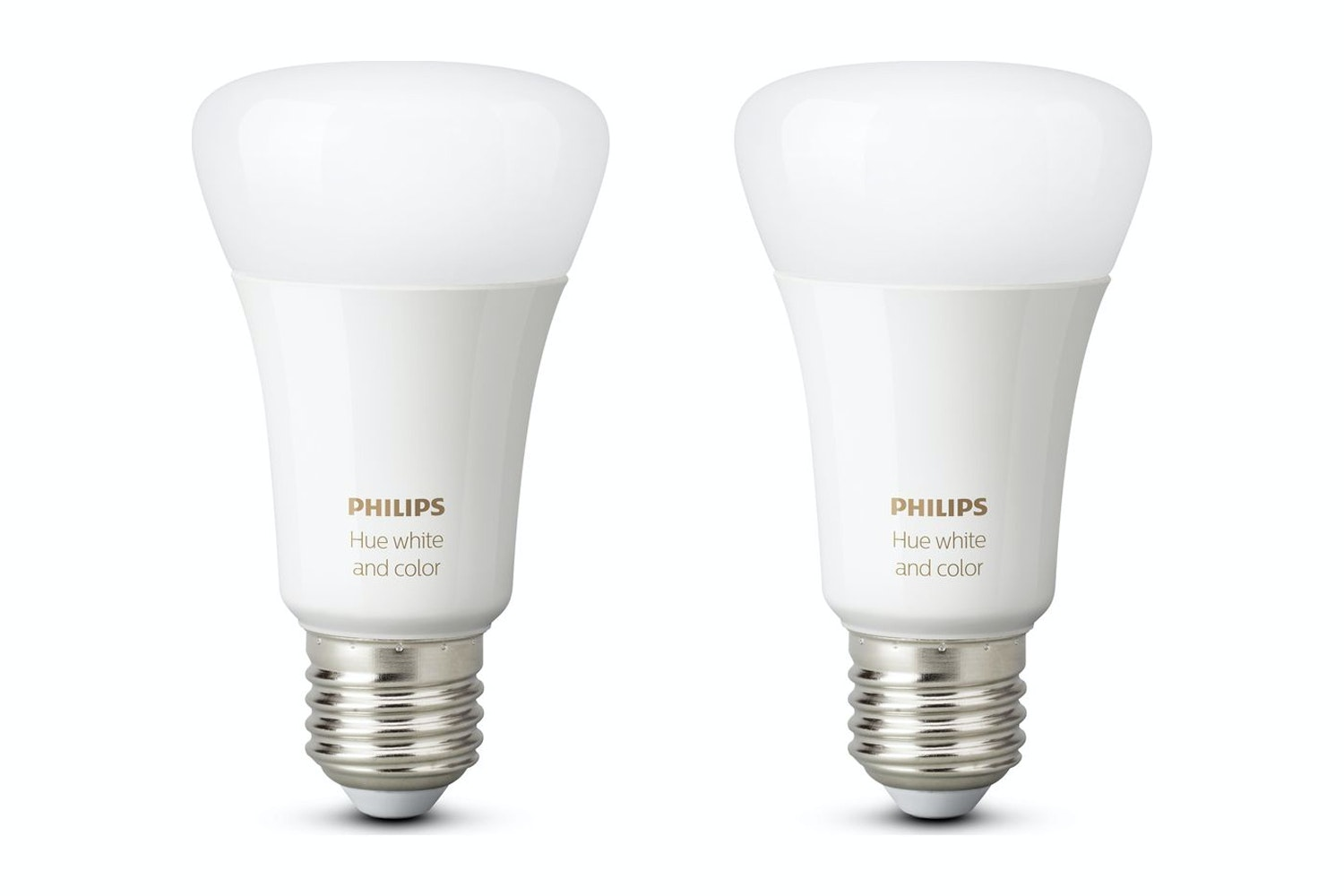 Philips Hue White & Colour Ambiance E27 Twin Pack